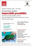 Presentazione del libro IMPOSSIBILI POSSIBILITA'