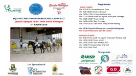 EQUI-BLU MEETING INTERREGIONALE AD INVITO