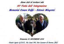"""Non mancate alla III° Festa dell'Integrazione """"Memorial Roffi-Mingozzi"""""""