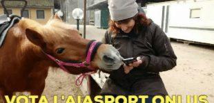 Ancora pochi giorni per sostenere l'Aiasport Onlus con il tuo voto!