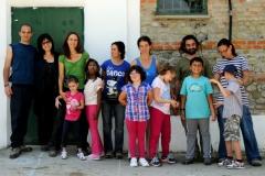 Settimana verde per bambini non vedenti